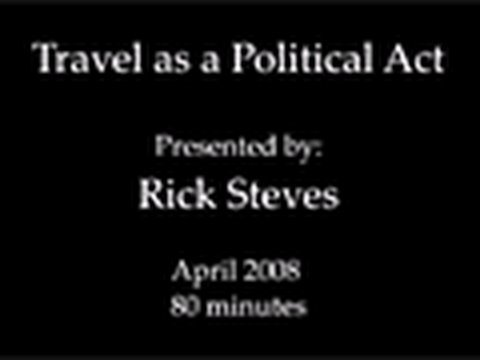 Travel as a Political Act Lecture: Intro