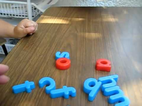 Toddler-Reading. Word blends