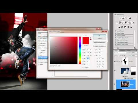 Photoshop Tutorial: How to Create a Dazzling Dance Photo Manipulation