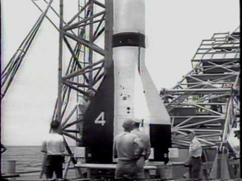 Project Argus 'Greatest Experiment': 3 A-Blasts In Space 1959 Newsreel