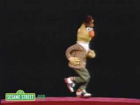 Sesame Street: Bert Dances To Doin' The Pigeon