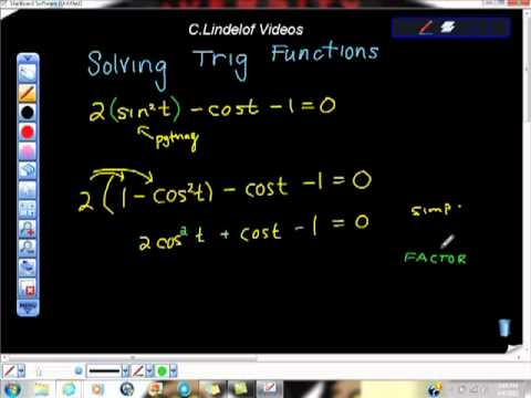 Solving Trigonometric Functions Made Easy