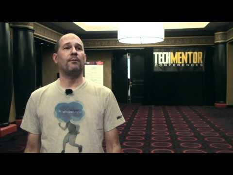 TrainSignal Talks with Ed Liberman at TechMentor 2011