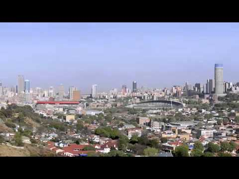 The Coolest Stuff On The Planet- Johannesburg, City of Gold (and Trees)