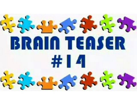 Video Brain Teaser #14