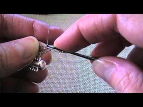 Wire Crochet Bracelet with Beads Tutorial