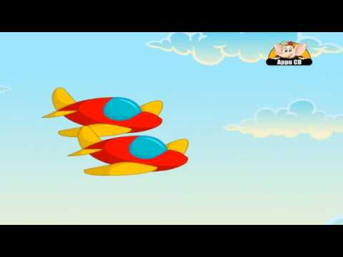 Nursery Rhyme - Two Twin Aeroplanes