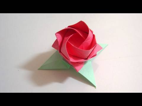 Origami Leaves - Kawasaki Rose