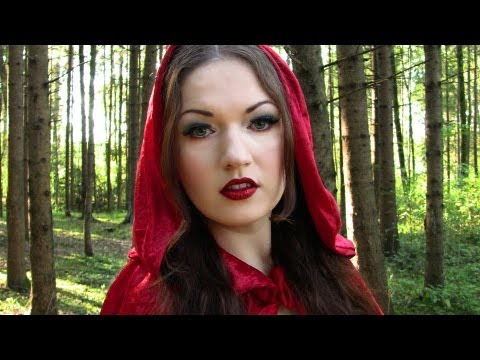 Red Riding Hood Halloween Costume Makeup