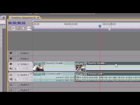 Premiere Pro Tutorial - 8 - Timeline Panel
