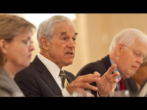 """Ron Paul: Fed """"Doing Too Much,"""" GOP's Letter to Bernanke """"Too Little, Too Late"""""""