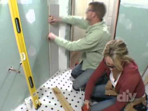 Tongue-and-Groove Wainscoting-DIY