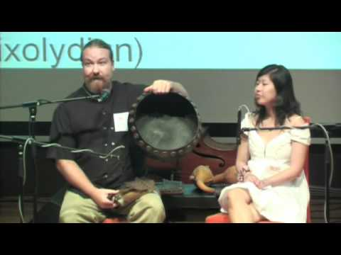 TEDxNUS - Ty Constant and Serene Seow - a performance on the African instrument, the Mbira
