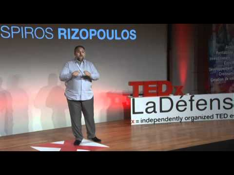 TEDxLaDefense - Spiros Rizopoulos - How to Return Romance into Business?