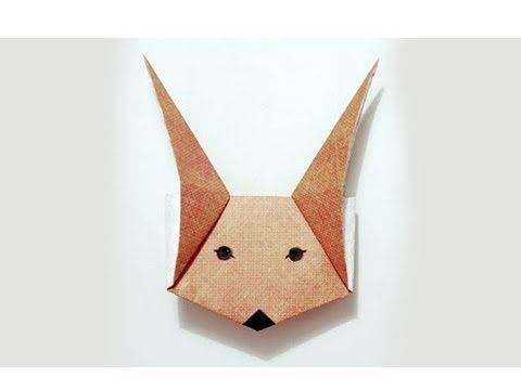 Origami Fox Mask/ Puppet