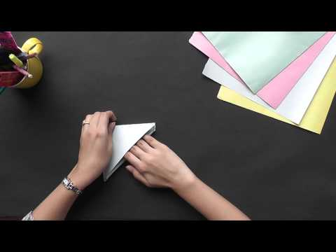Origami - Let's make a Cone Boat (HD)
