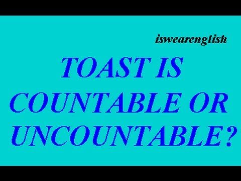 Where do you make a toast? - ESL British English Pronunciation