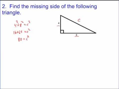 Pythagorean Theorem Tutorial