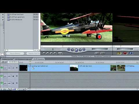 Total Training for Final Cut Pro 5: The Essentials Ch2 L7  Trimming with the Blade Tool