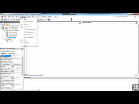 Visual Basic for Excel Tutorial | Visual Basic Editor | InfiniteSkills