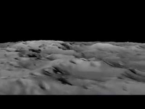 Simulation lets users fly over the Moon's south pole