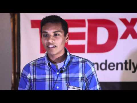 Nithin Jilla - TEDxIrvine - Listening, Mattering and Triggering Action