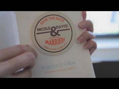 Wedding Invitations: How to Make Save the Date Cards
