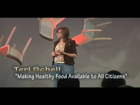 TEDxCreativeCoast - Teri Schell - Making Healthy Food Available to All Citizens