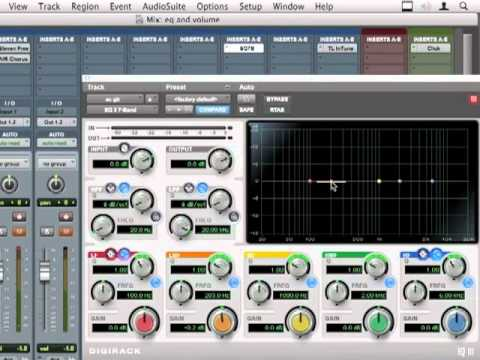 Pro Tools 9 Tutorial - EQ And Volume