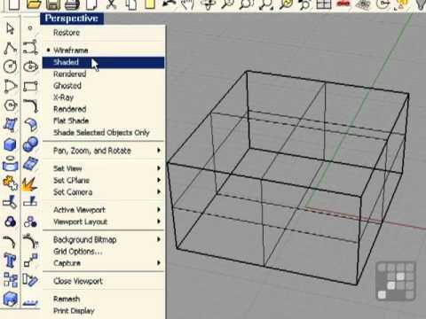 Solids and Meshes - Rhino 4 Tutorial