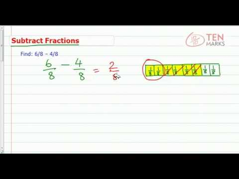Subtract Fractions