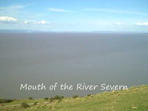 Where the mouth of the Severn meets the Bristol Channel.
