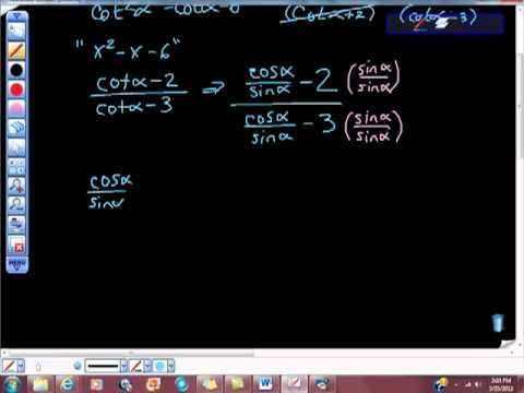 Simplifying Trigonometric Functions 40
