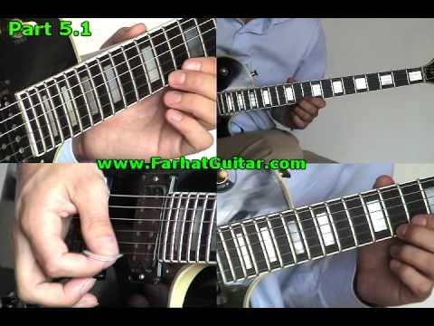 Nothing else matters Metallica Guitar Cover  5.1 www.FarhatGuitar.com