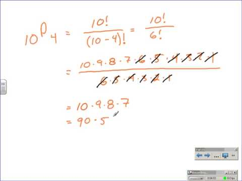 Permuations and Combinations - Counting Methods
