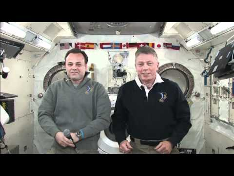 Station Crew Discusses Life in Space During In-Flight Interviews