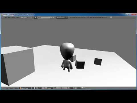 "Tutorial series ""teaser' for Blender 2.5 Game Engine"