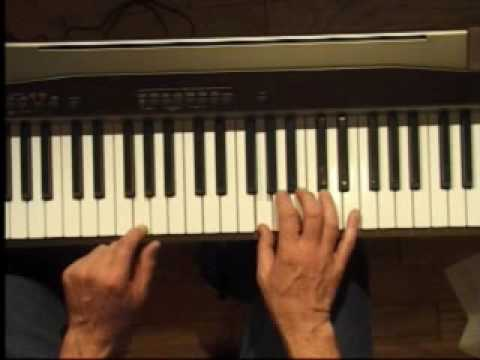 Piano Lesson - How to Play the G major scale (right hand)