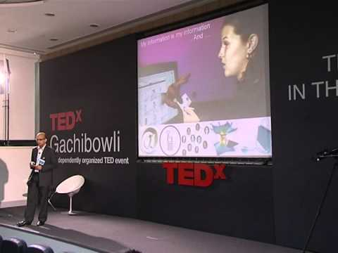 TEDxGachibowli - Vishal Gupta - Information - The new trade-able commodity and what it means to us
