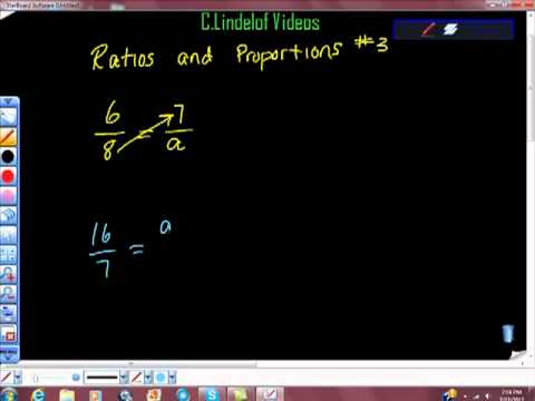 Ratios and Proportions pt III College Algebra