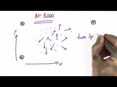 Robot Particles - CS373 Unit 3 - Udacity