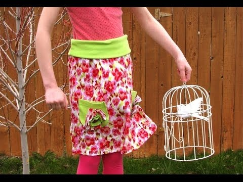Upcycled Tee-Skirt Tutorial