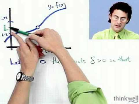 The Formal Definition of a Limit,  from Thinkwell's Calculus Video Course