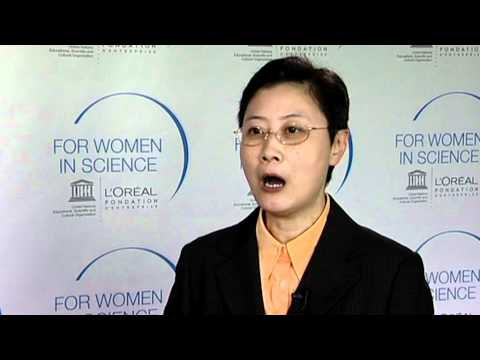 Professor Vivian Wing-Wah YAM, Laureate of the L'Oréal-UNESCO 2011 For Women in Science Awards