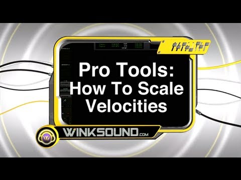 Pro Tools: How to Scale Velocities