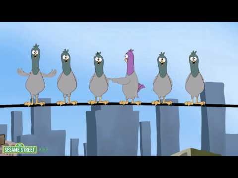 Sesame Street: Song: 9 Pigeons