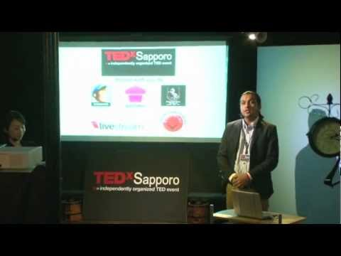 TEDxSapporo - Dilip BK Sunar- Opening by the curator