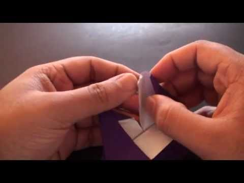 Origami Daily - 175: Heart Picture Frame (Valentine's Day) - TCGames HD wmv