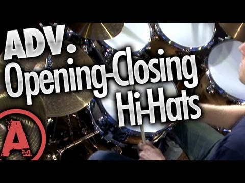 Opening-Closing Hi-Hats - Advanced Drum Lessons