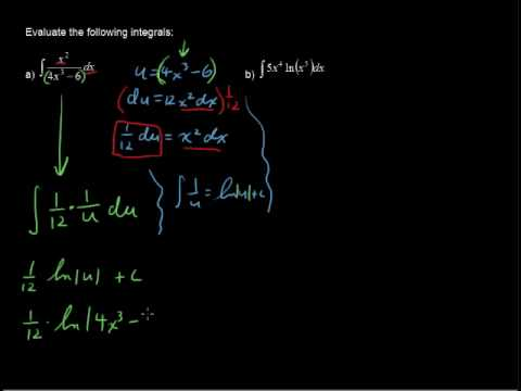 What are Antiderivatives as Logarithms - Calculus Tips